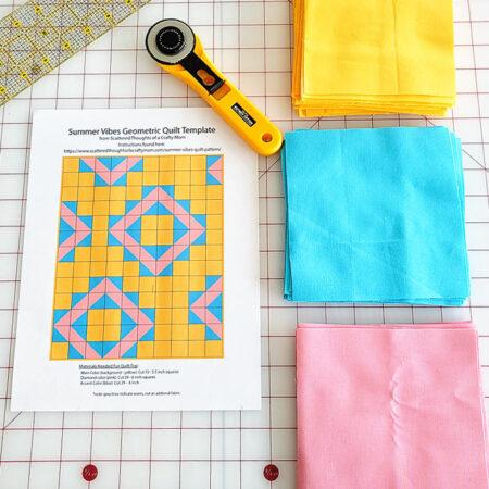 summer vibes quilt pattern